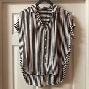 Madewell Central Shirt Ballard Stripe
